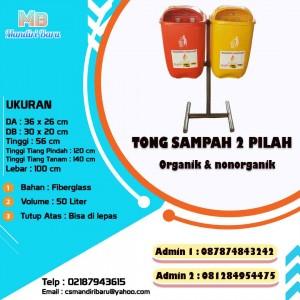 Jual tempat sampah fiberglass, harga tempat sampah fiber di Bogor, harga tempat sampah di bogor,