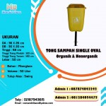 TONG SAMPAH FIBERGLASS SINGLE OVAL 50 LITER