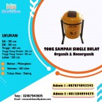 TONG SAMPAH FIBERGLASS BULAT 40 LITER