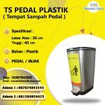 TONG SAMPAH PLASTIK INJAK / PEDAL
