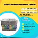 TONG SAMPAH STAINLESS KOTAK CUSTOM
