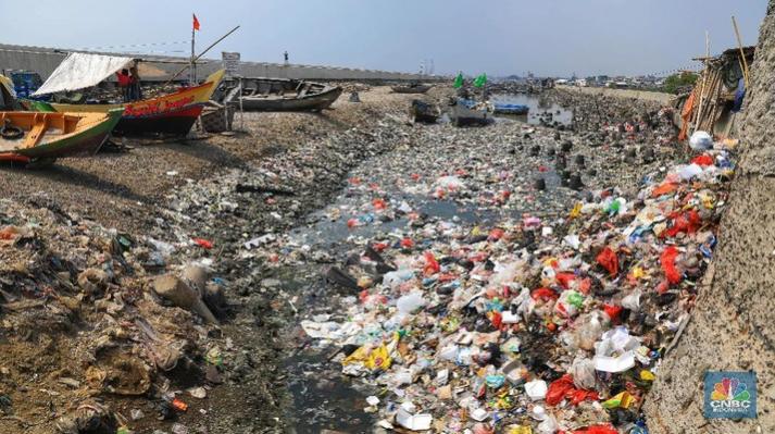 sampa kotor plastik