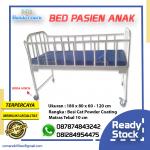 BED PASIEN ANAK BAHAN BESI